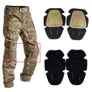 1 Par Adulto Tático de Combate Protecção Pad Set joelho Elbow Protector Elbow Segurança Sports Ou Knee Pads Joelheira Cinta