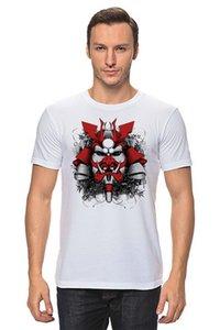 Giappone Mask T-shirt Hq Stampa miglior prezzo Collor Psy Rave Stampa Tatuaggio Free Style Tee Shirt