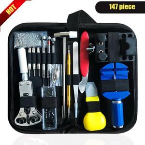 147pcs set Watch Repair Tool Kit Watch Case Opener Link Remover Screwdriver Repair Tools Kit Watchmaker Tools