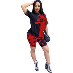 Designer Womens sportivo Rosa Tuta manica lunga Giacca Pantaloni Tow pezzi Set con cappuccio Leggings insieme delle 2 parti Outfits aderente Sport Set