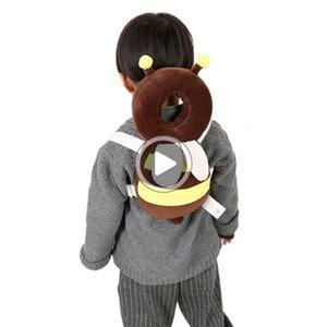 Sevimli Bebek Baş Koruma Bebekler Bebek Çocuk Bakım Boyun OWS içinde Head Restraint Pad Ek aynı tarihte