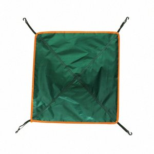 Outdoor Camping Anti UV Picnic Lightweight Waterproof Cloth Awning Tent Tarp Roof Cover Portable Rain Canopy Travel Beach P6bd#