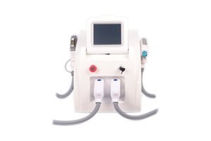 2020 new best 2 In 1 Hair Removal 532nm 1064nm Laser Skin Rejuvenation Face Whitening Spot Removal Freckle Cleaning IPL OPT Use Machine