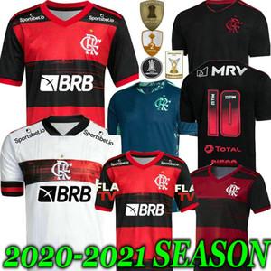 B. HENRIQUE 20 21 flamengo finals jersey 2020 2021 Flemish GUERRERO VINICIUS JR sports Soccer Jerseys Flamengo GABRIEL football adult man
