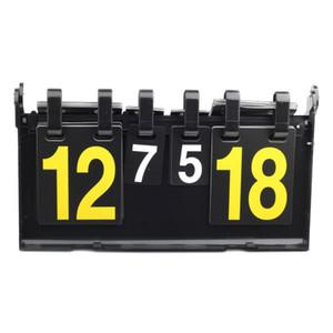Scoreboard Sport Multi Concorso PortableFor Tennis da tavolo Pallacanestro Badminton Calcio Pallavolo Boards 4 cifre Pallamano