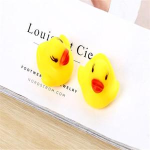 Baby Shower Bath Toy Cartoon Cute Duck Funny Bathtub Bathroom Swimming Pool Children Water Toy Gift