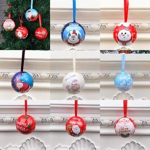 Bolas Enfeites Candy Caixa Ornamento Balls 6cm presente de Natal flandres Box Xmas Detalhes no XD23949