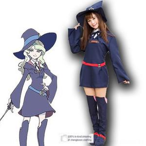 f1vEQ 마녀 학교 정원 Yako 다이 애나 susiman 바바라 의류 Janson 씨 의상 연기 의류 로티의 cosplaycostume