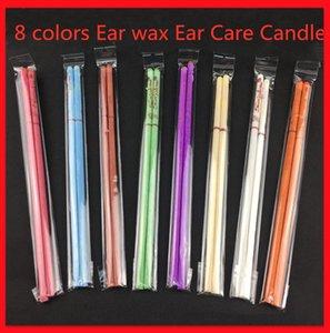 Природные 8 цветов пчелиный воск уха просвечивании Pure Bee Wax Thermo аурикулярная Therapy Straight Стиль Индиана Fragrance Цилиндр уха Ухо Уход Свеча