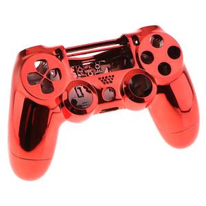 Cromagem Frente Housing Shell Case Capa Para Sony PS4 Pro Controlador