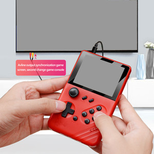 New GA03 Pocket Game Players Mini Retro TV Video Game Consoles Rocker AV Output TF Card for NES GBA MD SFC 16 Bit Classic Games for Kids