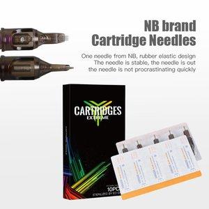 Dragonhawk Перманентного макияжа Pen машина Профессионального Rotary Pen татуировка Kit Mix Размер игла Set LCD мини питание