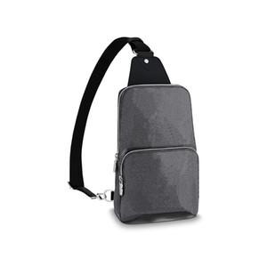 Spalla del corpo della traversa uomini borsa Messenger Bag Uomo Borsello portamonete da donna in pelle frizione borsa raccoglitore di modo Fannypack 68 688
