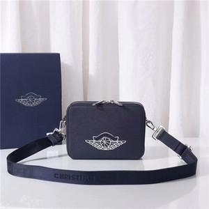 Торговая сумка сумка мода классические мужчины и женщины камеры холст сумка черный синий белый многоцветный узор тканые сумка