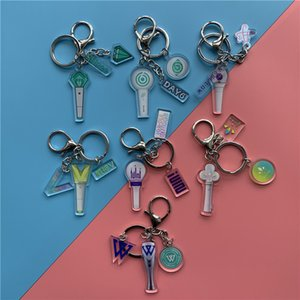 KPOP Acrylic Key Chain Key ring Shinee DAY6 VICTON Pendant Bag Accessories Fans Collection 5*8CM WJ400