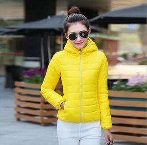 Jacket Women Winter A Warm Parks Middle Long Thin Hood Coat Outerwear Parka Coat drop shipping M 3xl