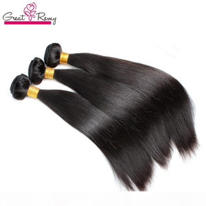 Greatremy Brazilian Human Hair Bulk For Hair Extensions Silky Straight Virign Bundles 12-30inch Braiding Hair Weft Drop Shipping