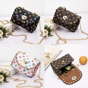 New Kids Handbags Shoulder Bag Fashion Print Baby Mini Lace Purse Bags Cute Girl Travel Casual Messenger Coin Purse for Girls Gifts
