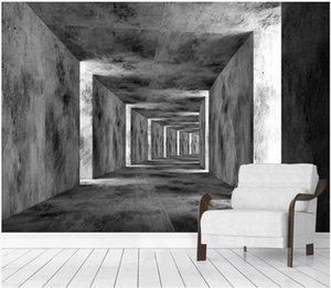 WDBH 3d wallpaer fotografici personalizzati spazio esteso corridoio tv sfondo soggiorno arredamento murali 3d Tappezzeria per le pareti 3d