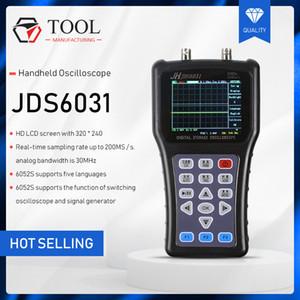 Jinhan للراسم المحمولة JDS6031 osciloscopio portatil الإشارات الرقمية مولد JDS6052S معدل عينة الذبذبات الرقمية