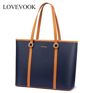 LOVEVOOK women shoulder bags Office bag 15.6 inch laptop bag for ladies luxury handbags female large tote bags for school work