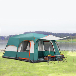 Tanxianzhe camping home tent inflatable party wedding rooftop tents outdoor waterproof with two bedroom 5 to 10 Person