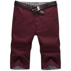 Etero Shorts Moda estate multitasche Zipper Slim Beach ginocchio lunghezza Designer Shorts maschile Plus Size pantaloni casual uomini sottili