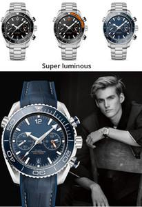 les hommes de sport de montres pour hommes mécanique automatique bleu mouvement en acier inoxydable hommes lunette en céramique plongée sous-marine de la montre des hommes