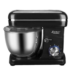 Кухня Электрический Стенд Смеситель Хлеб Тесто Maker машина Tilt-Head 5л 1500W нержавеющей стали Чаша 6-ступенчатая Kitchen Stand Mixer