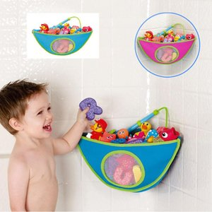 Bath Toy Organizer Storage Bin Baby Bathroom Bag Baby Kids Bath Tub Storage Waterproof Toy Hanging Shape Bag