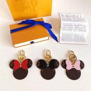 Cute Pattern Unisex Keychain Pendant 6 Colors Personality Designer Men Women Key Rings Birthday Gift for Lover Trendy Key Accessories