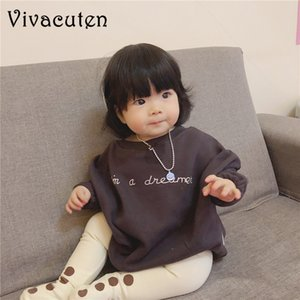 2020 Ins Spring Autumn Korean Style Baby Rompers Infant Kids Wear Baggy Sweater Girls Boys Winter Hoodies Newborn Baby Clothes