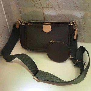 Oswego Три в одном маджонге мешка 2020 новых роскошных сумок женщин Сумок дизайнерской Crossbody Сумка PU кожа плечо мешок
