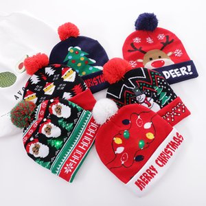 2020 men women childrens christmas hat Winter Hats For Women Beanie Cap Unisex Cuffed Plain Skull Beanie Knit Hat Very Soft