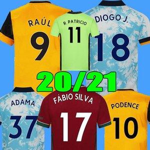 20 21 maillots de foot Wölfe Fußball-Trikot Vitinha R.PATRICIO Dendoncker Coady Semedo Podence NEVES 2020 2021 Fußball Männer und Kinder T-Shirt