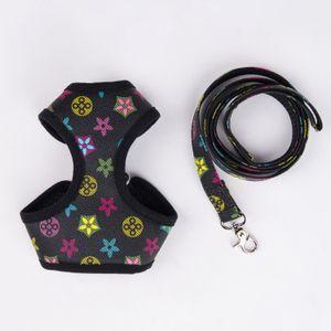 Il nuovo Pet Pet Back Dog Leash Suit Tuta in pelle Pet Collar Go Out to Walk the Dog Leash Cat Back Back Spot