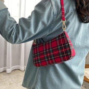 2020 Sacs à bandoulière New Retro Rouge Ge Zi Bao Underarm Sacs à main Blanc Bleu Paquet Baguette de pain Laptop Messenger Bag