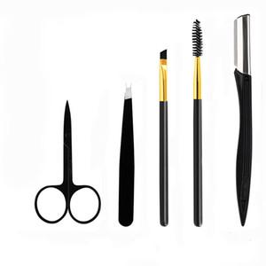 Berufsaugenbraue-Messer-Gesichtsgesichts-Razor Yfashion Augenbraue-Messer Grooming Set Kits für Männer und Frauen 5pcs / set