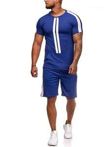Sets Casual Suits Designer Sets Mens Summer Tracksuits Sports Tshirts Shorts 2pcs Clothing