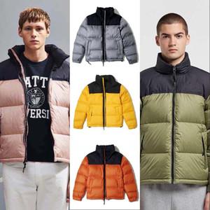 2020 chaqueta casual de invierno Parka Hombres Mujeres camiseta clásica abajo cubre para hombre estilista caliente al aire libre de la chaqueta de alta calidad unisex Outwear
