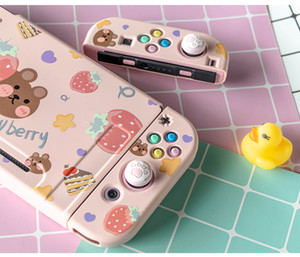 NS Switch JoyCon DIY Colorful ABXY Directions Keys butterfly Buttons for Nintend Switch Controller Joy-con Left Right Controller