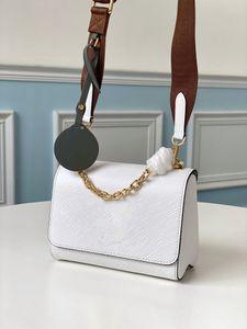 Designer spalla bag ladies sacchetto bianco classico stile utenti M56628 speciali