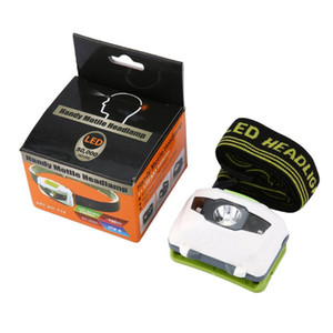 LED Head Torch Headlight Lamp CE Camping Induction Headlamp Battery Powered for Camping Hiking Fishing Outdoor
