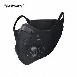 Anti-pollution Carbon Xintown Activated Mask Dustproof Mountain Bicycle Sport Road Cycling Masks Face Cover E8kn#
