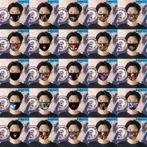 Многоразовый Cartoon Girl Дизайнер Tapabocas Face Наруто Наруто Cubrebocas маска для лица Маска-фу-фу 04 dhHvt zlstore007