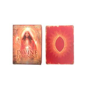 Tarjetas PALYING femeninos Juegos de mesa 44 del partido Oracle Para Tarot Card Game Tarjetas Divinas Pcs qqds FzROl