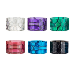 Resin Drip Tip Fit TFV8 Baby V2 Tank Wide Bore Honeycomb Resin Mouthpiece Drip Tips Vape E cigarette Accessories DHL Free