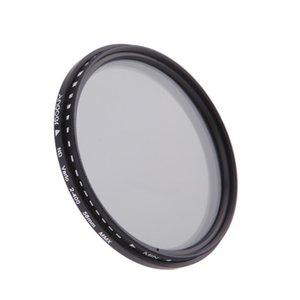 58 milímetros Nd filtro de densidade neutra Filtros ND2 ND4 nd8 ND400 Lens Variável Nd Fader Para Canon Nikon Dslr