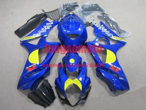New injection fairings kit+7 Free gifts for SUZUKI K7 GSXR1000 GSXR 1000 07-08 SUZUKI GSXR1000 2007-2008 K7 bodywork #BLUE #7Q5T2