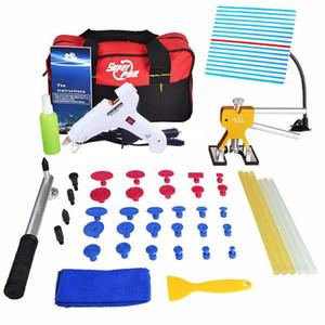PDR Tools Paintless Dent Repair Set Car Dent Removal Hand Tools PDR Reflector Board Lifter Hot Melt Glue Sticks Kit